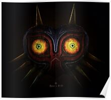 Legends of Zelda Majora's Mask Time's End Poster