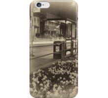 London bus stop in spring, 2014 iPhone Case/Skin