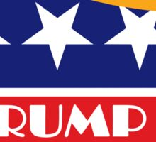 Trump 2016 GOP Elephant Hair ©TrumpCentral.org Sticker