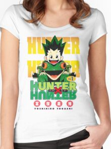 Hunter x Hunter manga Women's Fitted Scoop T-Shirt