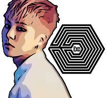 Exo Overdose Xiumin - Black by kpoplace