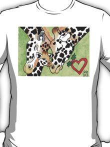 2013 Holiday ATC 19 - Holiday Giraffes T-Shirt