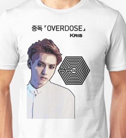 Exo Overdose Kris - Black Unisex T-Shirt