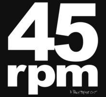 45rpm by blackiguana