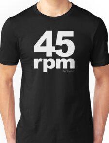 45rpm Unisex T-Shirt
