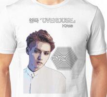 Exo Overdose Kris - White Unisex T-Shirt