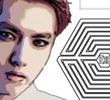 Exo Overdose Kris - White Sticker