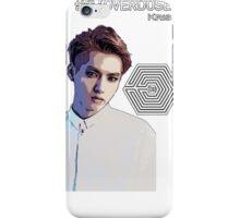 Exo Overdose Kris - White iPhone Case/Skin