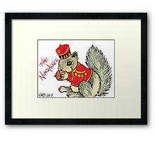 2013 Holiday ATC 22 - The Nutcracker Squirrel Framed Print