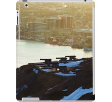 signal hill cannons, newfoundland iPad Case/Skin