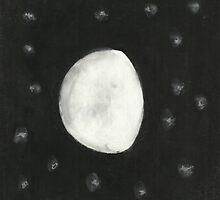Moon Phase 2 by Eileen Garcia