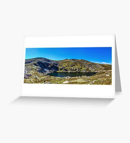 A Mountain Lake Greeting Card