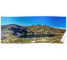 A Mountain Lake Poster