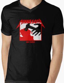 Minnesota Oh Geez Em All Mens V-Neck T-Shirt