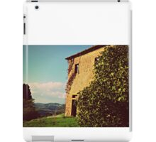 Rustic and Whimsicle Architecture in the Tuscan Countryside of Italy iPad Case/Skin