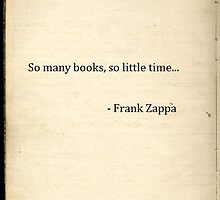 So many books, so little time... by danielalopez