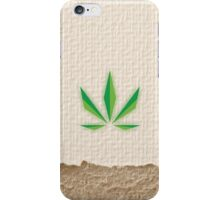 Paper Weed iPhone Case/Skin