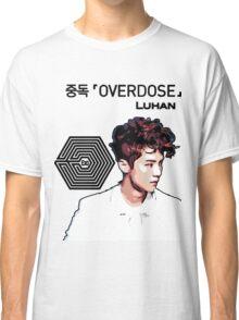 Exo Overdose Luhan - Black Classic T-Shirt