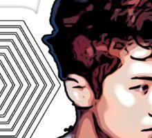 Exo Overdose Luhan - White Sticker