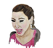 Kim Kardashian Crying Photographic Print