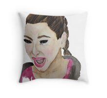 Kim Kardashian Crying Throw Pillow