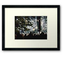 World Showcase Framed Print