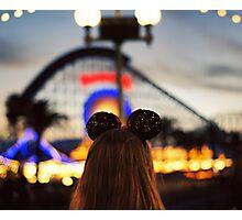 Disneyland  Photographic Print