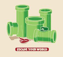 Escape your world by Budi Satria Kwan