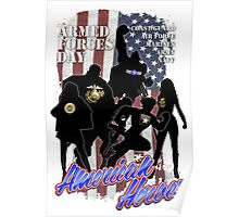 Armed Forces Day - American Heroes Poster