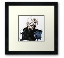 Cloud Final Fantasy 7 Framed Print