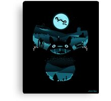 My Nighttime Friends Canvas Print