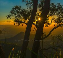 Sunset at Mount Stuart, Townsville, North Queensland by Ann-Maree Rickerby