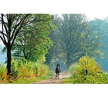 Going on an Easter morning ride Photographic Print