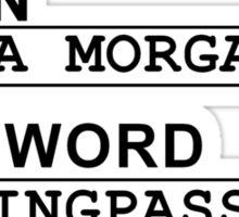 TYPICAL DEBRA MORGAN  Sticker