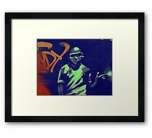 graffiti boy Framed Print