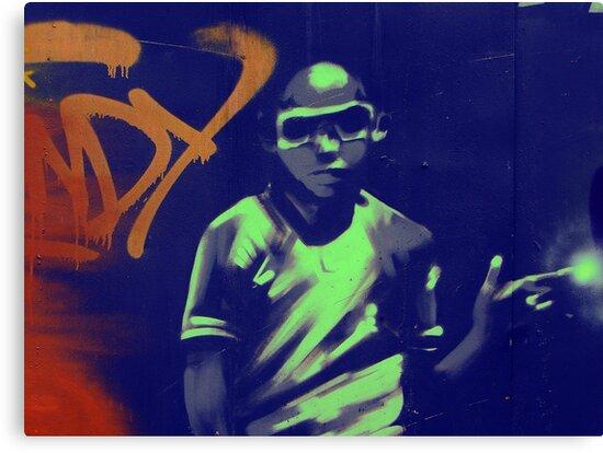 graffiti boy by fuxart