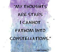 Constellations - TFIOS by procraztinator
