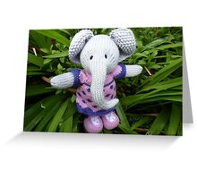 I'm an Elephant get me out of here Greeting Card