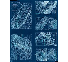 Civil War Maps 2141 Maps illustrating campaign of Gen T J Stonewall Jackson in the Shenandoah Valley of Virginia 1862 Inverted Photographic Print