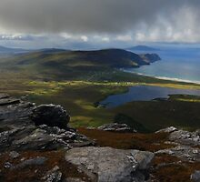 From Slievemore, Achill Island by Adrian McGlynn