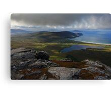 From Slievemore, Achill Island Canvas Print