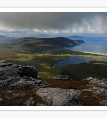 From Slievemore, Achill Island Sticker