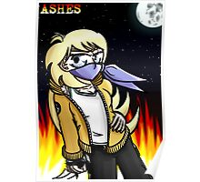 Ashes - Special Agent Wolf Poster