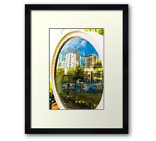 Ornament Floodlight Framed Print