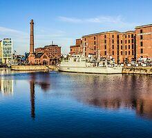 Battleship in the dock by Paul Madden