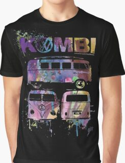 Volkswagen Kombi 3 Way (faded) © Graphic T-Shirt