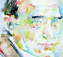 ROBERT MUSIL - watercolor portrait by lautir