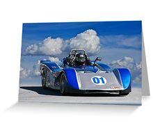 SCCA Racecar SRF Greeting Card