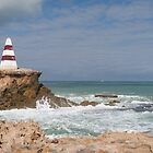 Cape Dombey Obelisk!  A Robe Icon, built 1855, South Aust. by Rita Blom