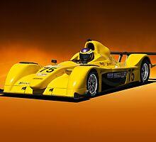SCCA Racecar P2 by DaveKoontz